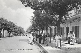 Algérie)  ORLÉANSVILLE  - Postes Et Télégraphes - Other Cities