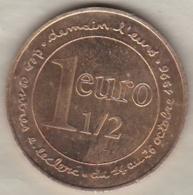 1 1/2  Euro Des Centres Commerciales Leclerc - Euros Of The Cities
