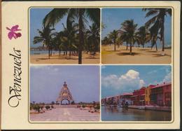 °°° GF539 - VENEZUELA - PUERTO LA CRUZ - VIEWS - 1993 With Stamps °°° - Venezuela