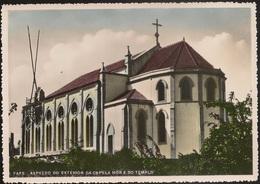 Postal Portugal - Fafe - Aspecto Do Exterior Da Capela Mor E Do Templo (Ed Fabriqueira Igreja Da Nova S José) CPA Église - Braga