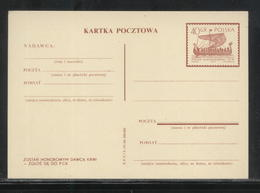 POLAND 1963 VIKING LONGBOAT SHIP BE A BLOOD DONOUR DONOR PROPAGANDA SLOGAN PC POSTAL STATIONERY MINT Cp 233 LI P60 - Interi Postali