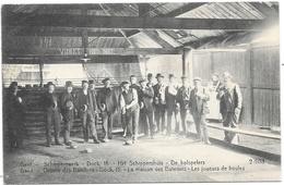 Gand NA82: Oeuvre Des Bateliers. Dock, La Maison Des Bateliers. Les Joueurs De Boules - Gent