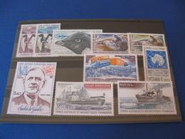 TAAF ANNEE COMPLETE 1980 NEUVE** LUXE COTE YVERT 38,40 EUROS - Full Years
