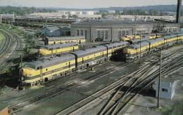 Alkos Der Great Northern Im Lok Terminal,St. Paul,Minnesota,ungelaufen - Trains