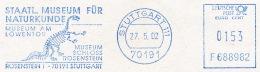 Freistempel 7703 Museum Schloss Skelett Dinosaurier - Machine Stamps (ATM)