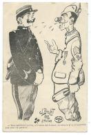 """CPA DESSIN ILLUSTRATION DE J. BOULOT, EPAGNY 1918, """"- TOUT GENDARM'QU'T'ES, SI T'AVAIS ETE LA-HAUT, TU VERRAIS..."""" - Illustrateurs & Photographes"""