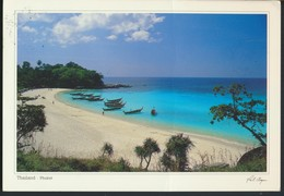 °°° GF547 - THAILAND - MAI NGAO BEACH - With Stamps °°° - Tailandia
