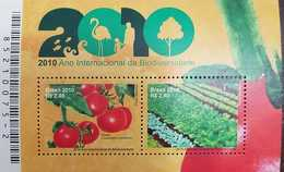 O) 2010 BRAZIL, INTERNATIONAL YEAR OF BIODIVERSITY-FLEMISH-TREE-FISHES. MNH - Brasil
