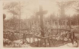 CARTE PHOTO ALLEMANDE - GUERRE 14-18 - ARGONNEN - ARGONNE - CIMETIÈRE - Guerre 1914-18