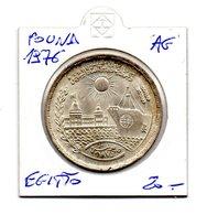 Egitto - 1976 - 1 Pound - Canale Di Suez - Argento - (MW1433) - Egitto