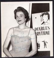 DEDICATED PHOTO ** ANITA LOVE ** RARE ( 1957 CASINO KNOKKE ) - Dédicacées