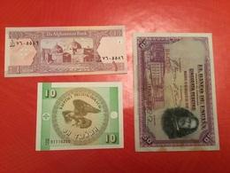 LOT DE 3 BILLETS VOIR LE SCAN - Coins & Banknotes
