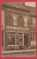 Pecq- Maison G. Delrue-Dupuis, Rue De Tournai ...Electricité, Poêlerie , Local Colombophile - 1921  ( Voir Verso ) - Pecq