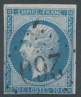 Lot N°44530  N°14B, Oblit GC Tardif 260 Avignon, Vaucluse (86) - 1853-1860 Napoleon III