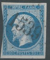 Lot N°44536  N°14B, Oblit GC Tardif 1539 Fontainebleau, Seine-et-Marne (73) - 1853-1860 Napoleon III