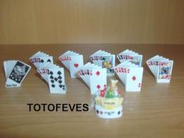 SERIE COMPLETE FABOLAND POKER DE 10 FEVES N° 292 - Autres