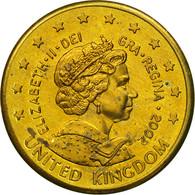 United Kingdom , Medal, Essai 10 Cents, 2002, SPL, Laiton - Royaume-Uni