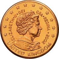 United Kingdom , Medal, Essai 2 Cents, 2002, SPL, Cuivre - Regno Unito