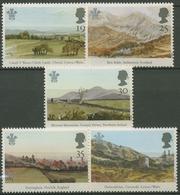 Großbritannien 1994 Landschaften, Aquarelle Von Prinz Charles 1503/07 Postfrisch - 1952-.... (Elizabeth II)