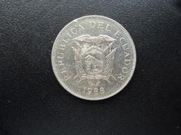 ÉQUATEUR : 50 SUCRES   1988   KM 93    SUP+ / SPL (non Circulé) - Ecuador