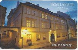 REPUBBLICA CECA  KEY HOTEL  Leonardo Praha - Cartes D'hotel