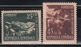 1938   EDIFIL Nº NE 787  / 788   /**/, - 1931-Hoy: 2ª República - ... Juan Carlos I