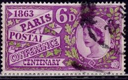 Great Britain 1963, Paris Postal Conf.. 6p, Sc#392, Used - Used Stamps