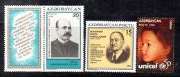478 490 - AZERBAIGIAN  : Tre Valori Integri *** - Azerbaijan