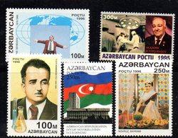 483 490 - AZERBAIGIAN  : Cinque Valori Integri *** - Azerbaijan