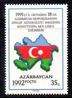 479 490 - AZERBAIGIAN  1992 : Unificato N. 71 Integro *** - Azerbaijan