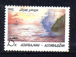 317 490 - AZERBAIGIAN  1992 : Unificato N. 70A Integro *** Macchiette Di Colore - Azerbaijan