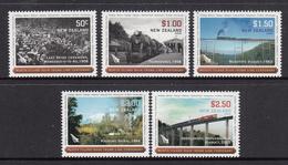 New Zealand MNH Michel Nr 2543/47 / From 2008 / Catw 12.00 EUR - Nieuw-Zeeland