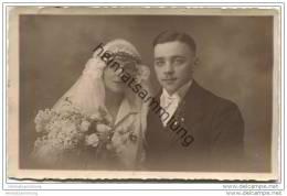 Hochzeit - Hochzeitsfoto-AK - Atelier Menzel Barmen-R. Bahnhofstrasse 7 - Hochzeiten