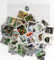 IRELAND 100 Different EURO Self Adhesives - Collections, Lots & Series
