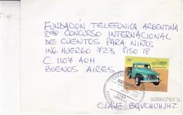 ENVELOPE CIRCULEE CIUDAD BUENOS AIRES OBLITERE 2005 CORDOBA. RASTROJERO DIESEL STAMP. FULL CONTENT INSIDE- BLEUP - Argentine