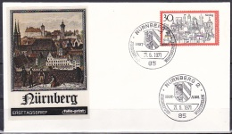 FRG/1971 - Tourism/Fremdenverkehr - 30 Pf Nurnberg - FDC 'NURNBERG 2' - [7] Federal Republic