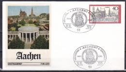 FRG/1973 - Tourism/Fremdenverkehr - 40 Pf Aachen - FDC 'Aachen 1' - [7] Federal Republic
