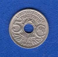 5  Cts  1920  Petit  Module - France