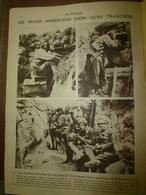 1915 LE MIROIR :Spahis Marocains;Dédéagatch,Moudros;Croiseur LA LORRAINE;Serbes à La Drina;Vienne Et Buda-Pest;Ruth ;etc - Riviste & Giornali