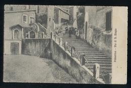 PALESTRINA - ROMA - 1916 - VIA SAN BIAGIO - BELLA ANIMAZIONE! - Roma (Rome)
