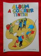 TINTIN Album à Colorier N°2 - Tintin