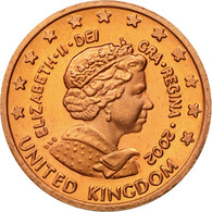 United Kingdom , Medal, Essai 1 Cent, 2002, SPL, Cuivre - Royaume-Uni