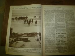 1915 LE MIROIR:Elisabeth Sur Front Belge;Grandes Figures De La Crise Balkanique;Battage Du Blé;Château De Soupir; Etc - Revistas & Periódicos