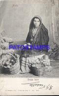 98747 MALTA COSTUMES GRANGE SELLER POSTAL POSTCARD - Malta