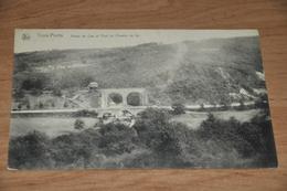1461- Trois-Ponts, Route De Coo Et Pont Du Chemin De Fer - Trois-Ponts