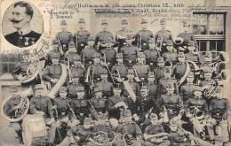 Czech Rep. - JINDRICHUV HRADEC - The Military Band, Led By J. Zemann Palying For King Of Denmark Christian IX. - Tschechische Republik