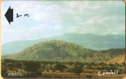 "Oman - GPT, 29OMNW, ""Pride"" Highland Ranges, Mountains, 8/96, Used As Scan - Oman"