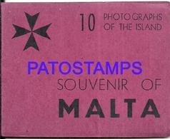 98761 MALTA MULTI VIEW 10 TEN MIN 6.5 X 8.5 CM PHOTO NO POSTAL POSTCARD - Malta