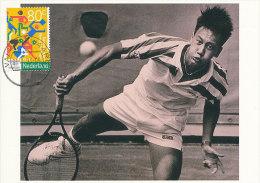 D16646 CARTE MAXIMUM CARD FD 1993 NETHERLANDS - TENNIS MICHAEL CHANG CP ORIGINAL - Tennis