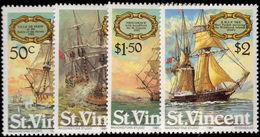 St Vincent 1981 Sailing Ships Unmounted Mint. - St.Vincent (1979-...)